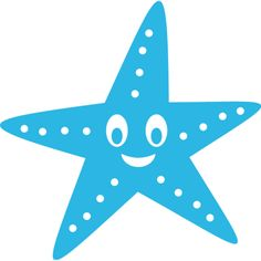 Estrella de mar, #vinilo infantil para #baño