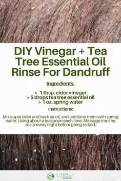 Tea tree oil is very effective for dandruff as it possess antibacterial and antifungal properties, with moisturizing benefits. Learn how to use it to treat dandruff!