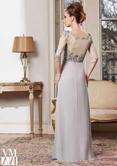 Evening Gowns / Dresses Style 71010: 71010 Chiffon/Mesh http://www.morilee.com/socialocassion/vm_collection/71010