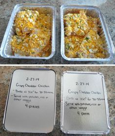 crispy-cheddar-chicken make ahead and freeze