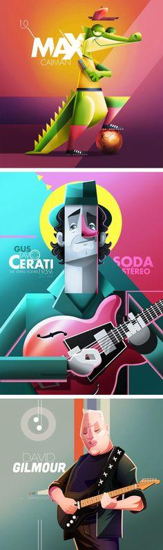 Viernes de Ilustración: Edgar Rozo (Colombia) – Diseño Latinoamerica