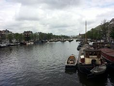 #Amsterdam sky over the Amstel river today :-)