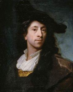 Title:  Self-portrait    Maker:  Schalcken, Godfried; painter; Dutch artist, 1643-1706    Category:  painting