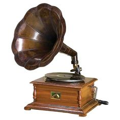 I pinned this Study Gramophone from the Rue Magazine event at Joss & Main!