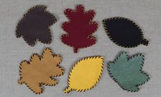 Thanksgiving Table Crafts: Felt Coasters