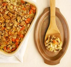 Tangy Tuna Casserole tastes just like Mom's -- only it's 100% good-for-you!