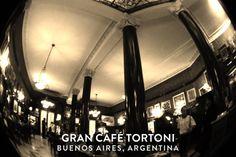 Buenos Aires, Argentina , CafeTortoni  March 2012