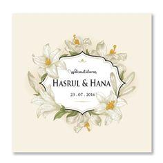 Kad Kahwin Floral 46 Kad kahwin murah | kad kahwin cantik | pakej kad kahwin | kad kahwin pink | kad kahwin bunga | wedding card | Jemputan Kahwin | Kad kahwin 6x6