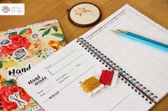 Papelaria, planner, notebook, design
