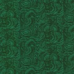 In A Gorgeous Emerald Green Hue This Tile Wallpaper Brings An Organic Brilliance To Walls With Design Mimicking The Look Of Swirling Malachite Stone