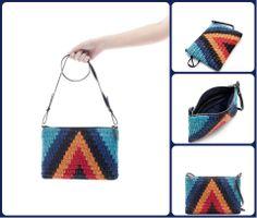 Zara crochet bag purse