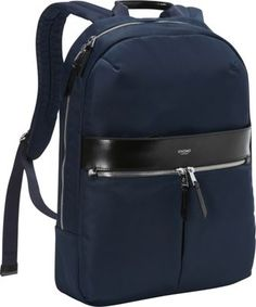 "KNOMO London Beauchamp 14"" Backpack Navy - via eBags.com!"