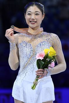Mirai Nagasu Photos Photos - Mirai Nagasu of United States poses after the medals ceremony of the Ladies skating ln ISU Four Continents Figure Skating Championships - Gangneung -Test Event For PyeongChang 2018 at Gangneung Ice Arena on February 18, 2017 in Gangneung, South Korea. - ISU Four Continents Figure Skating Championships - Gangneung - Day 3