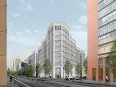Berlin, Stresemannstraße, Neubau
