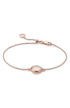 Monica Vinader 'Mini Siren' Fine Chain Bracelet
