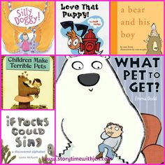 What Pet to Get? Library Storytime Program