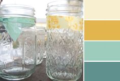 kitchen color palette {Color Theory} « soigné mint, sunflower yellow and more