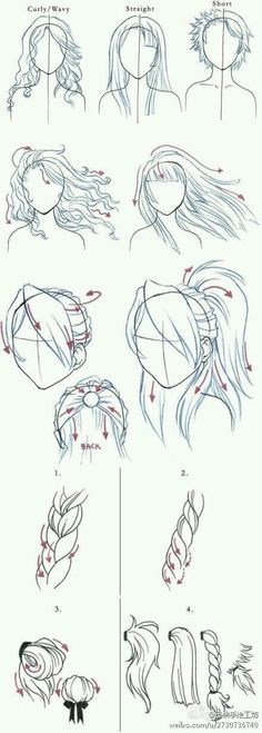 If you have problems drawing hair this little how to is great