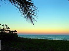 Fim da tarde em praia dos Nativos - Trancoso - Ba