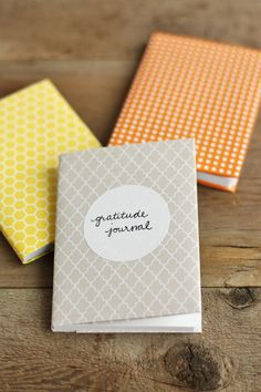 how to make these little journals