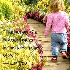"Monday Motivation: ""The journey of a thousand miles begins with a single step."" ― Lao Tzu #MotivatedMonday"