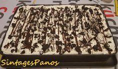 Ζαχαροπλαστική Πanos: Μπισκοτόγλυκο ψυγείου με μους μόκα και μπανάνες The Kitchen Food Network, Food Network Recipes, Sweets, Cookies, Cake, Desserts, Drinks, Nails, Crack Crackers