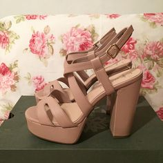 Always handy to have a pair of nude wedges
