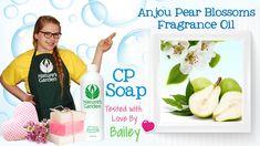 Soap Testing Anjou Pear Blossom Fragrance Oil - Natures Garden
