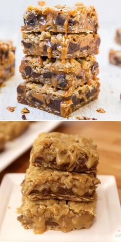 Wondering how to make Carmelitas? You only need one bowl without the mixer for this easy-to-make sweet treat! Combined with chocolate, these soft and chewy oatmeal caramel bars are one of the best dessert ideas!