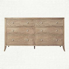 Addison 6 Drawer Dresser In Natural - master bedroom?