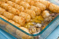 Tater Tot Casserole Often budget friendly and almost always simple, potato and tater tot casserole recipes are perfect for the family. With this collection of 12 Easy Potato and Tater Tot Casserole Recipes you'll find plenty Tater Tots, Hamburger Tater Tot Casserole, Ground Beef Casserole, Cowboy Casserole, Turkey Casserole, Potato Casserole, Tator Tot Casserole Recipe, Casserole Kitchen, Sausage Casserole