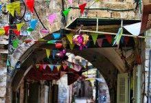 مدينة نابلس تتزين لاستقبال ذكرى المولد النبوي الشريف