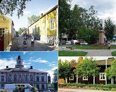 Pietarsaari Finland, Nostalgia, Mansions, House Styles, Places, Home Decor, Decoration Home, Manor Houses, Room Decor