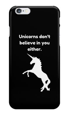 Unicorn Funny Quote by shabzdesigns