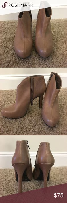 Jessica Simpson Bootie Heels Never worn! Jessica Simpson Shoes Ankle Boots & Booties
