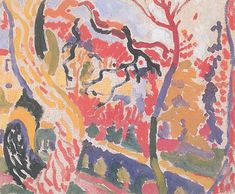 Landscape at Collioure,Summer 190 | Andre Derain | Joanne & Ira Kirshbaum Collection Los Angeles USA