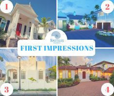 When it comes to first impressions, your home's front door means a lot for what people expect before they set foot on the inside. Which of these homes leaves the best first impression for you? Longboat Key, House Front Door, Waterfront Homes, Nautilus, Home Builders, Home Projects, Custom Homes, Luxury Homes, Things To Come