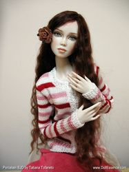 Monah has won the 2013 Dolls Awards of Excellence in Artist Ball Jointed Doll Category * Name: Monah (inspired by the Monarch butterfly) * Porcelain Ball Jointed Doll * Limited Edition of 20 pieces *...