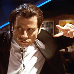 John Travolta as Vincent Vega in Pulp Fiction, 1994