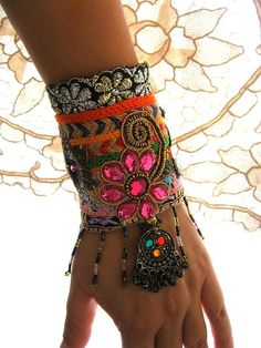Spellbound Gypsy Jangle bracelet by AllThingsPretty on Etsy
