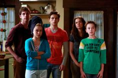 """#TheFosters 2x01 """"Things Unknown"""" - Brandon, Jesus, Callie, Mariana and Jude"""