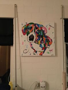 Painted my own dog