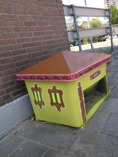 #streetart datsja 2013 concept: denkbeelden van Yvette van der Does. www.denkbeelden.com