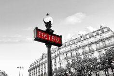 Metro sign, Metro photo print, Paris metro sign, Paris wall art, Paris print, Metro art, Paris photo print, new home gift, Paris decor