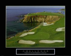 Challenge: Golf Art Print at AllPosters.com