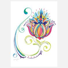 Lotus 8x10, now featured on Fab.