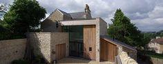 designscape architects / the fosse, batheaston Residential Building Design, Bristol, Sustainability, Architects, Entrance, Exterior, Cabin, Bath, London