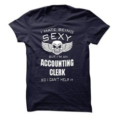 ACCOUNTING CLERK - #short sleeve sweatshirt #hoodies for boys. SATISFACTION GUARANTEED => https://www.sunfrog.com/LifeStyle/ACCOUNTING-CLERK-57284843-Guys.html?id=60505