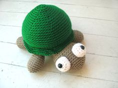 Crochet PATTERN: Crochet Turtle -pdf-