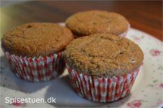 Vaniljemuffins uden sukker, mel og gluten